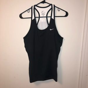 Nike Performance Workout Tank Top with Sports Bra